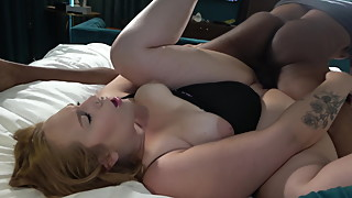 Thick Hotwife Fucks While Husband Records