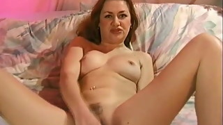 Beautiful Housewife Makes Herself Cum
