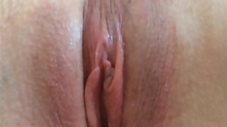 My wife orgasm and i cum in her pussy homemade video