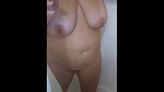 Wifey in the shower
