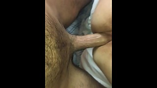 Wife Spreads pussy