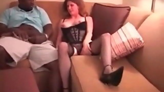 Cuckold Archive How wife in lingerie with BBC bull Sissy hus
