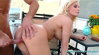 Big Tit Housewife Fucks A Young Stud