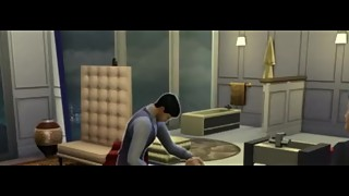 1) THE SIMS 4 PORN *DOCTOR FLOYD FUCKS THIN SPOILED WIFE AFTER FIGHT*