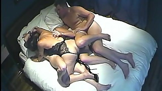 Hidden camera. Super family Swingers 1