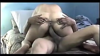 cow ride by desi  indian wife