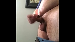 Jerking off wile wife  sleeping