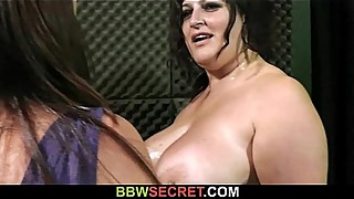 He fucks BBW but his wife finds out