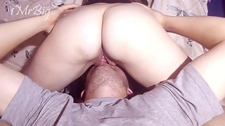 Hotwife gets fucked close up. Blowjob and cunnilingus. part 1