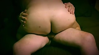 Husband Films BBW Wife Sucking and Fucking Friend