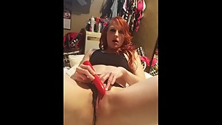 Creamy Panties Hot Wife Toy Solo