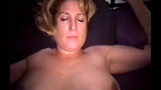 Fucking K and cumming on her tits