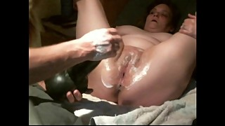 Homemade fisting wife, Bad Dragon, loss of bladder control