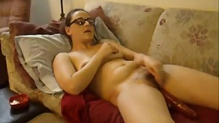 Hot wife fucks herself with 3 toys until she cums to an orgasm