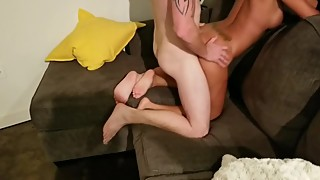 Watching my slut hotwife getting fucked hard by a Tinder stranger #9