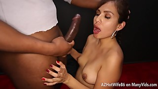 Hotwife face fucked by 8 strangers