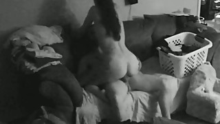 Fucking wife on real hidden cam