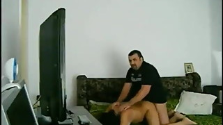 Turkish Man Fucking His Wife