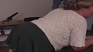Spanking The BBW Amateur Housewife