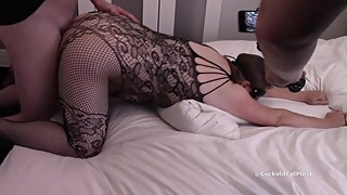 Cuckold Films as Wife Agrees to a Creampie from a Bull