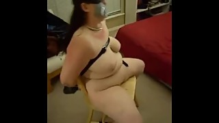 Wife tied to chair