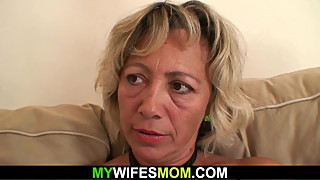 My wifes mother loves sucking and riding cock