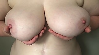Wife gets a shower part 2
