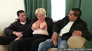 Two buddies pick up granny